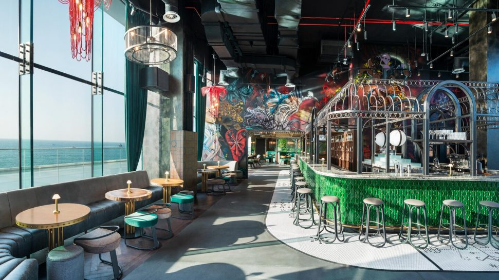 W The Palm Dubai SoBe Rooftop Bar