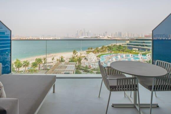 W The Palm Dubai Spectacular Skyline View Balcony