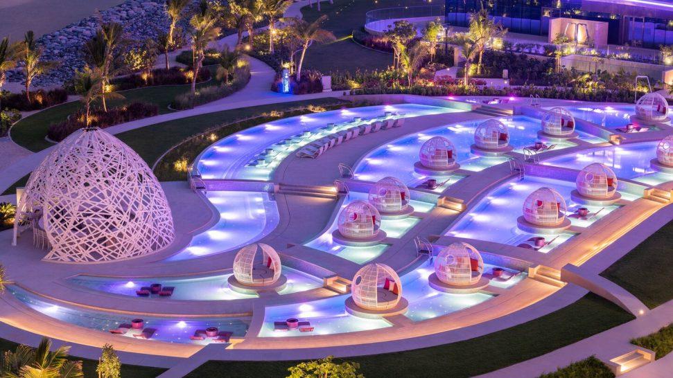 W The Palm Dubai Wet Deck Night
