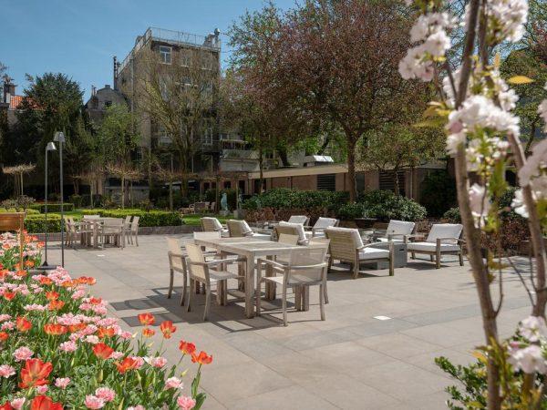 Waldorf Astoria Amsterdam Garden View