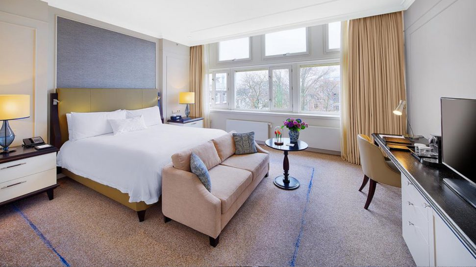 Waldorf Astoria Amsterdam King Grand Premier With Canal View