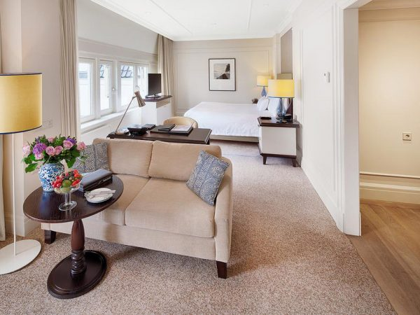 Waldorf Astoria Amsterdam King Junior Suite With View