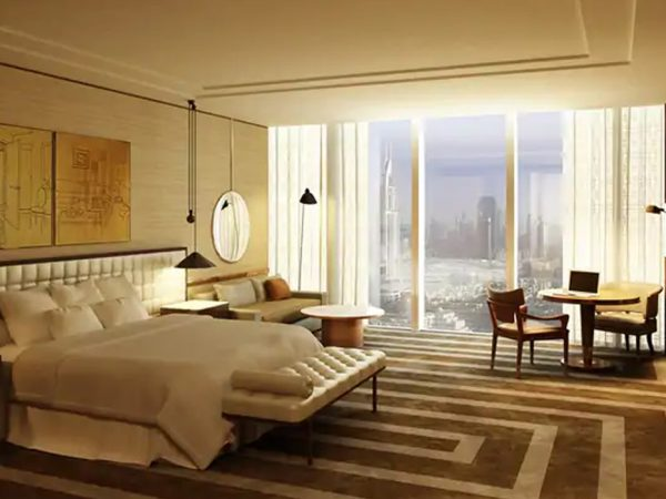 Waldorf Astoria Dubai International Financial Centre Corner Suite