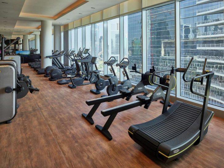 Waldorf Astoria Dubai International Financial Centre Gym