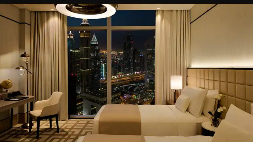 Waldorf Astoria Dubai International Financial Centre Two Queen Beds Accessible Deluxe Room