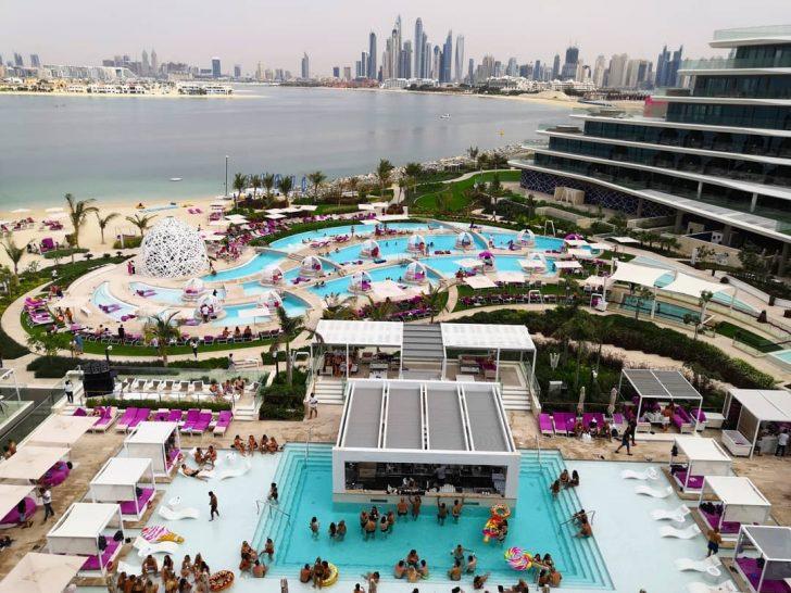 Wet Deck at W Dubai The Palm
