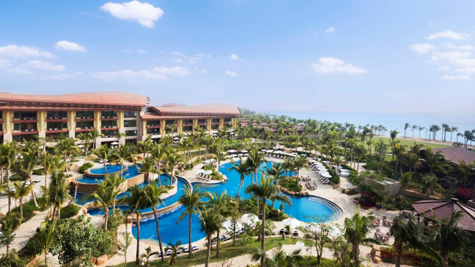 The St. Regis Sanya Yalong Bay Resort Family Pool