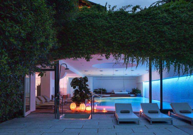 Albereta Relais and Chateaux Spa Pool