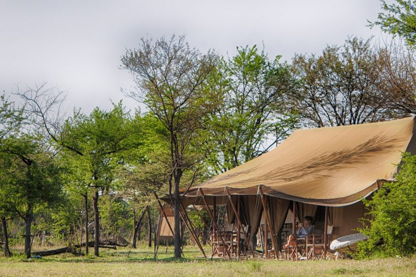 Alex Walker's Serian's Serengeti North Camp