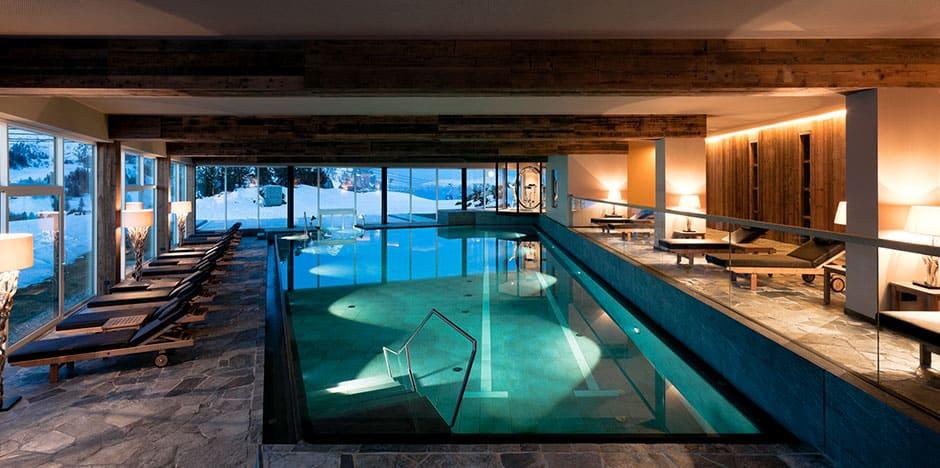 Alpina Dolomites Gardena Health Lodge & Spa pool