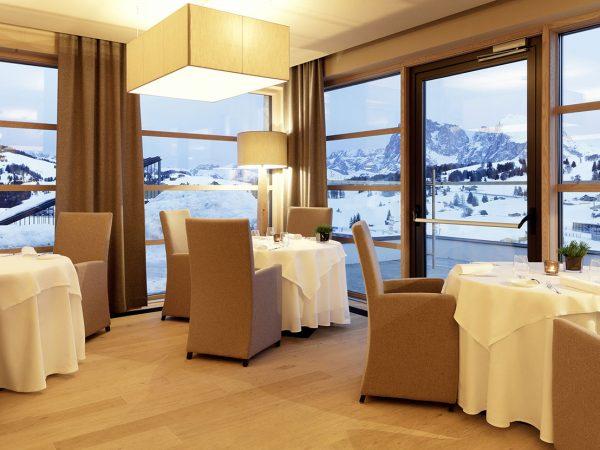 Alpina Dolomites Mountain Restaurant & Stuben