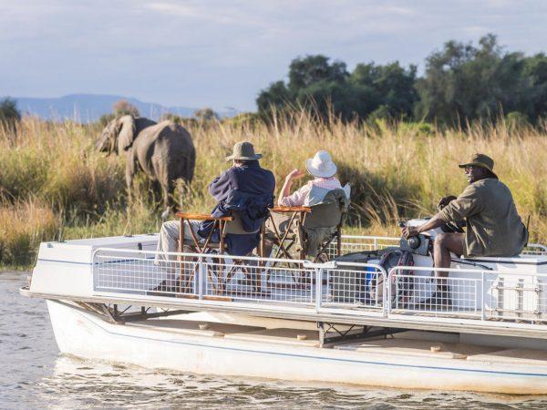 Anabezi Camp Boating and fishing
