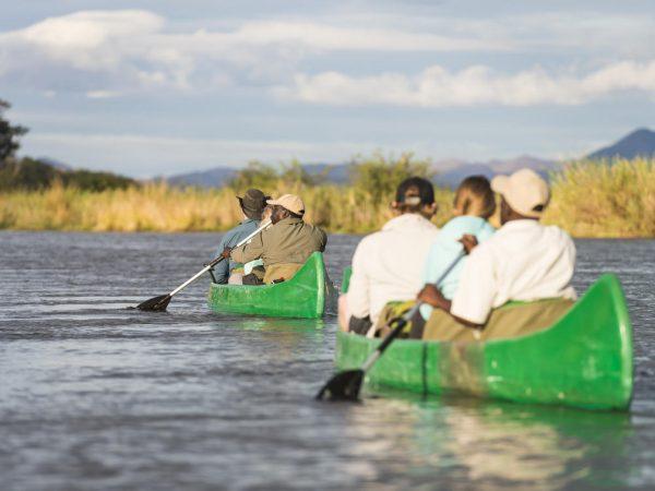 Anabezi Camp Canoeing Safaris