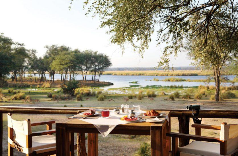 Anabezi Camp Dining