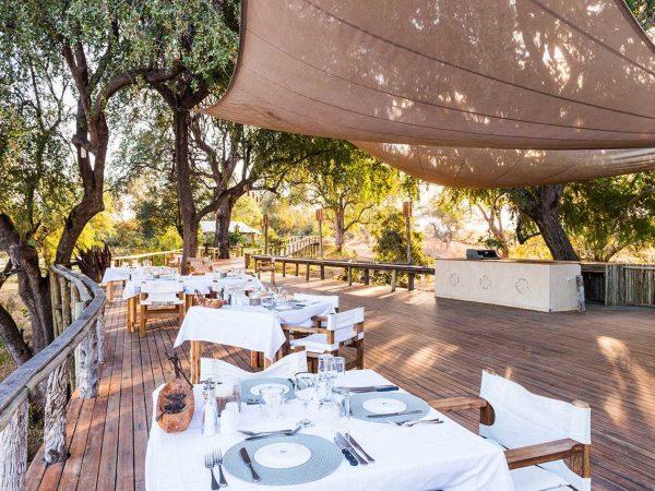 Anabezi Camp Dining Table