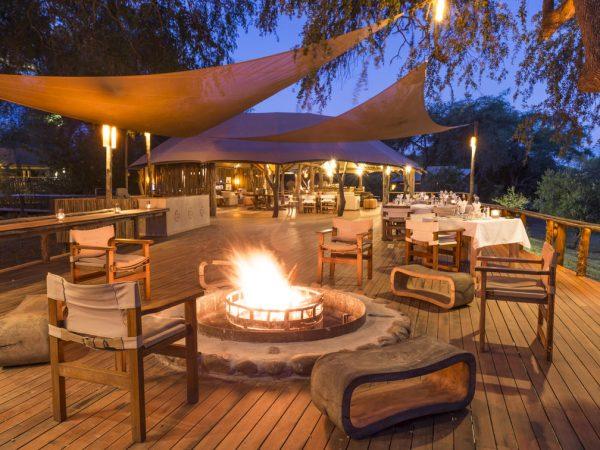 Anabezi Camp Fire Deck