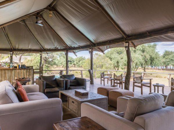 Anabezi Camp Interior