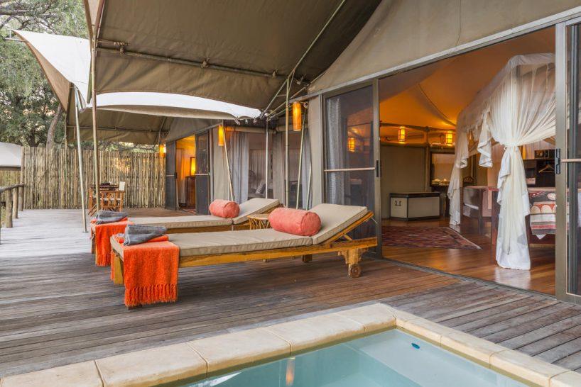 Anabezi Camp Lobby Pool