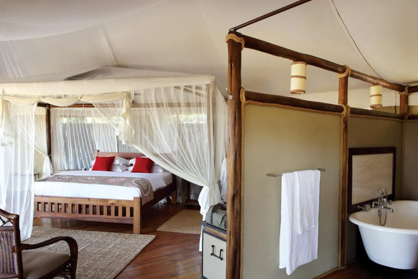 Anabezi Camp Luxury Tent