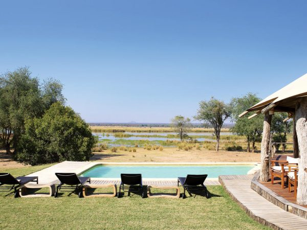 Anabezi Camp Pool