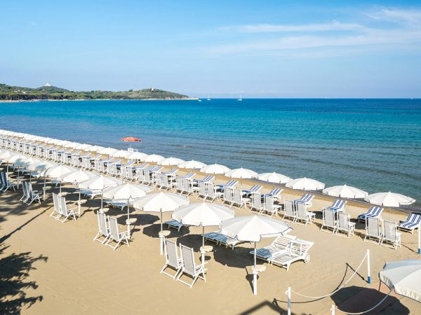 Baglioni Resort Cala del Porto Punta Ala Tuscany Beach View