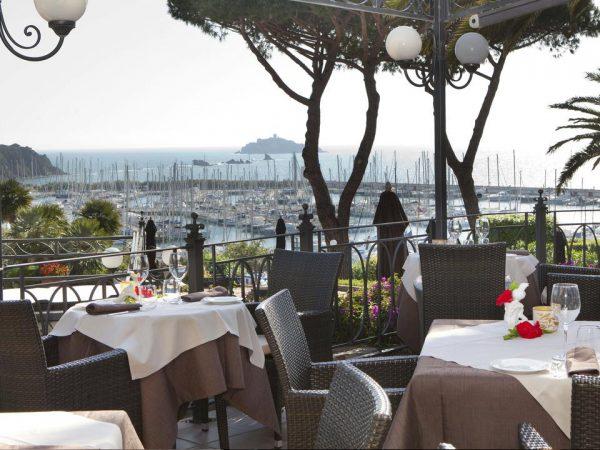 Baglioni Resort Cala del Porto Punta Ala Tuscany Belvedere Restaurant