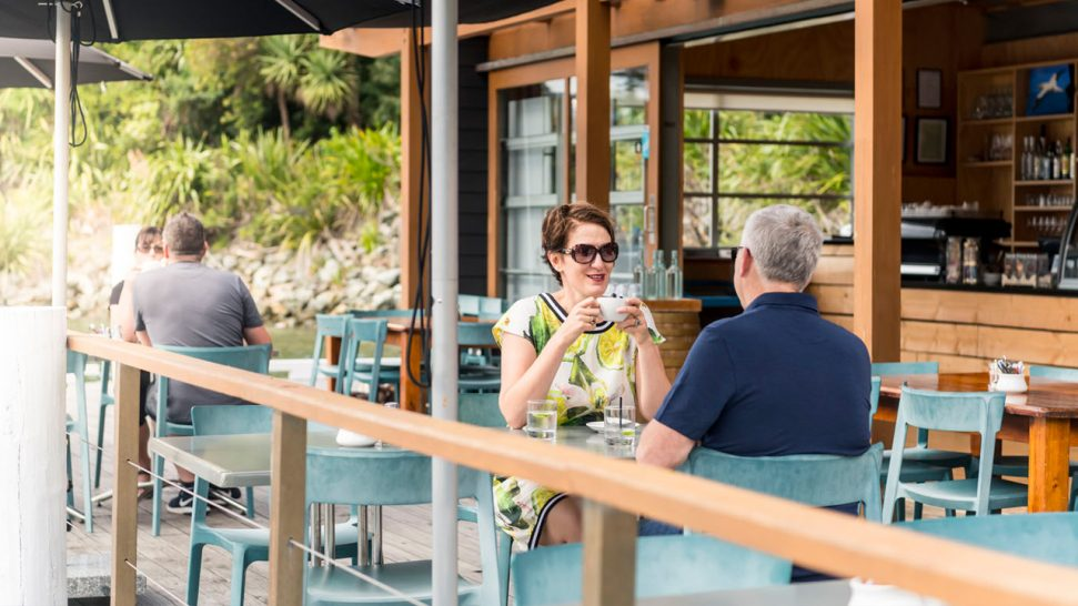 Bay of Many Coves Bight Cafe