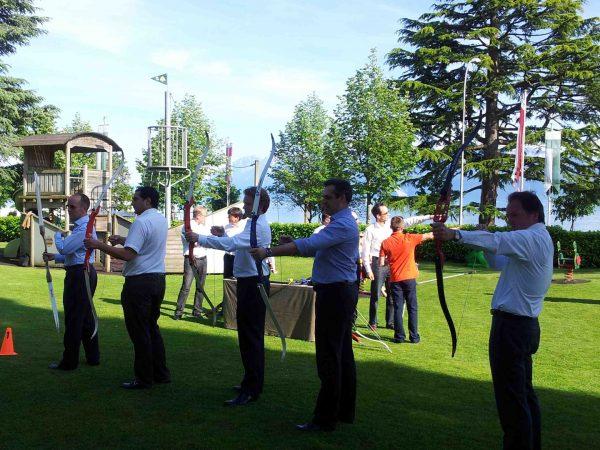 Beau Rivage Palace Archery Games