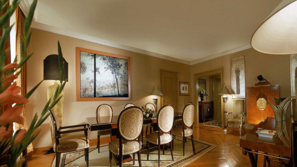 Beau Rivage Palace Art Deco Suite