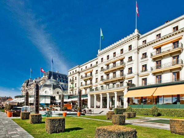 Beau Rivage Palace Hotel View