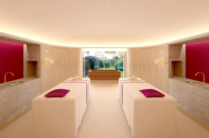 Beau Rivage Palace Lausanne Cinq Mondes Spa Massage