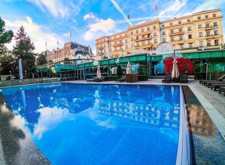 Beau Rivage Palace Lausanne Pool