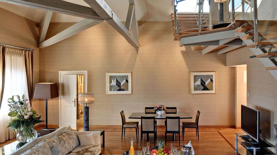 Beau Rivage Palace Lavaux Suite