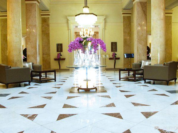 Beau Rivage Palace Lobby