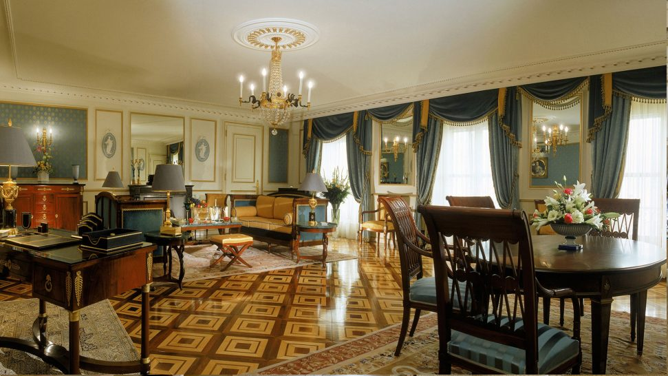 Beau Rivage Palace Malmaison Suite