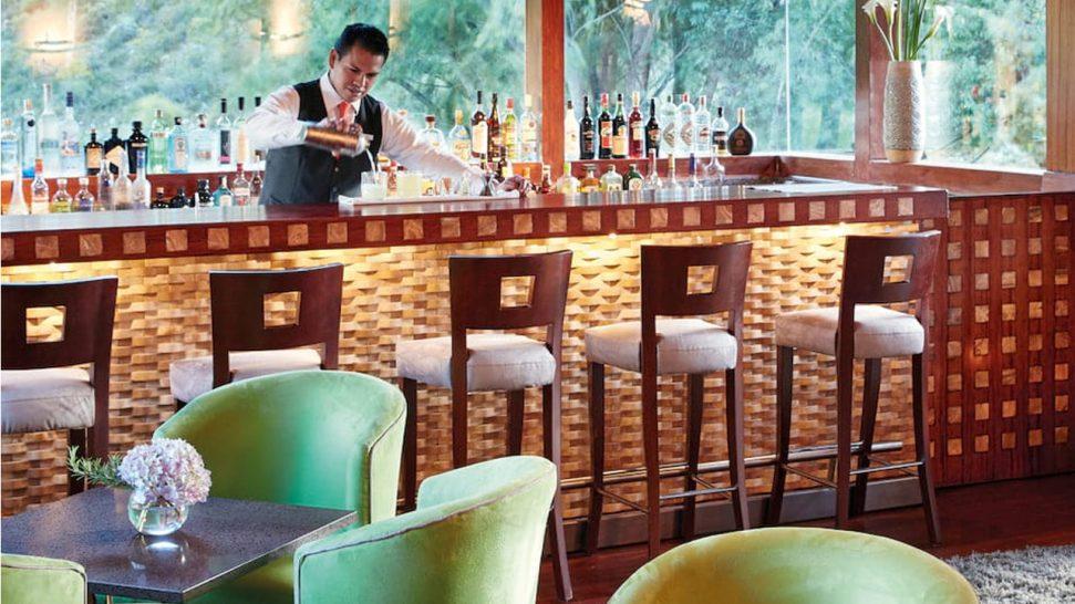 Belmond Hotel Rio Sagrado El Huerto Bar