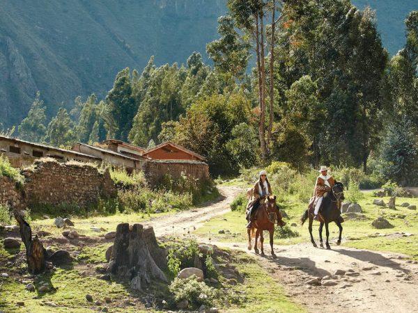 Belmond Hotel Rio Sagrado Horseback Riding