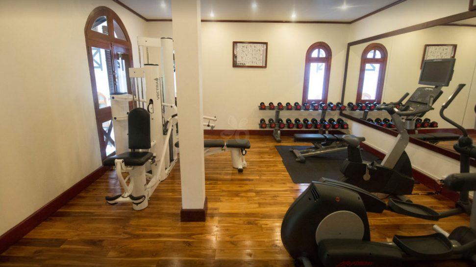 Belmond La Residence Phou Vao Gym