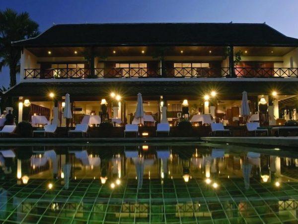Belmond La Residence Phou Vao Night