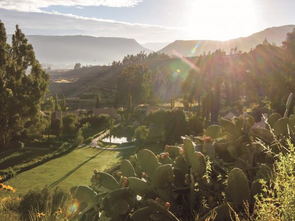 Belmond Las Casitas Cycling in Colca