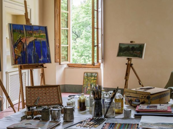 Borgo Pignano Painting classes