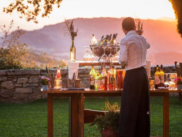 Borgo Pignano Sunset Cocktails