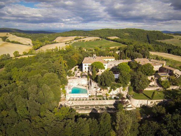 Borgo Pignano Top View