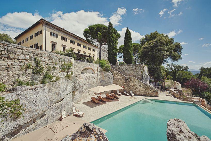 Borgo Pignano pool