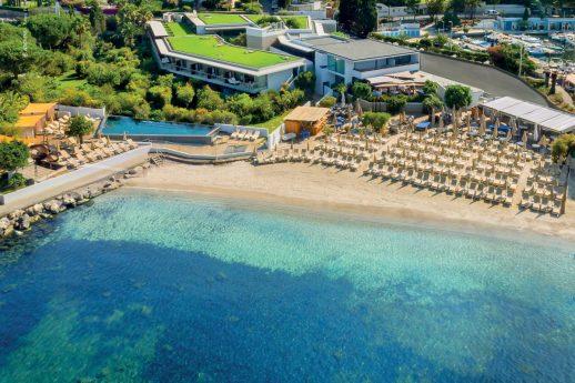 Cap d Antibes Beach Hotel beach