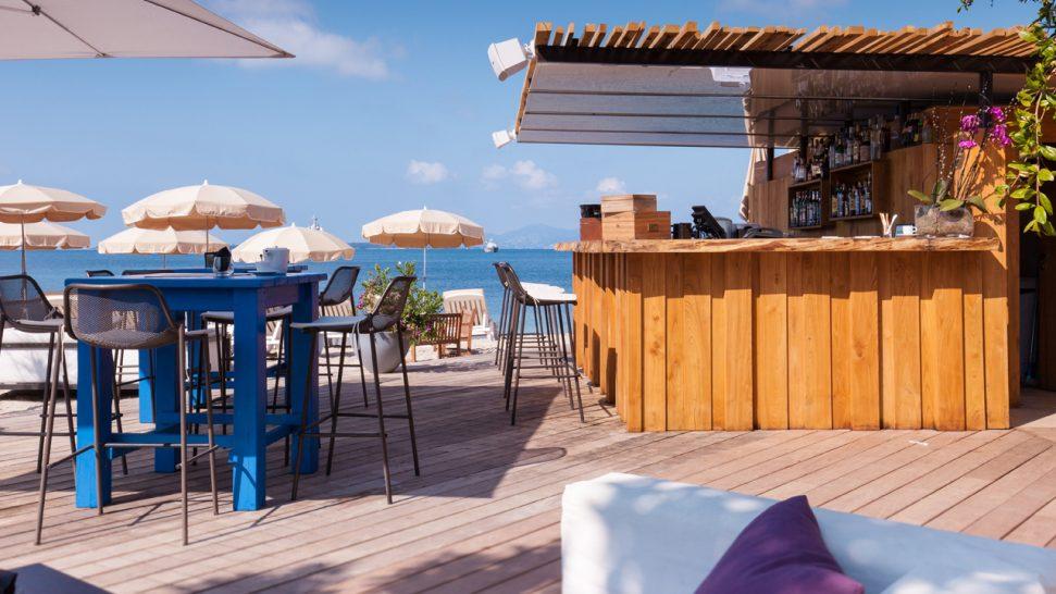 Cap d'Antibes Beach Hotel Beach Bar