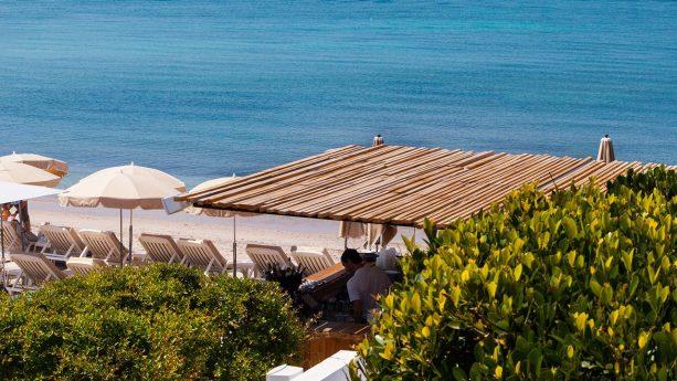 Cap d'Antibes Beach Hotel Lobby Sea View