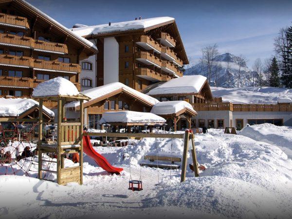 Chalet RoyAlp Hotel Spa Front