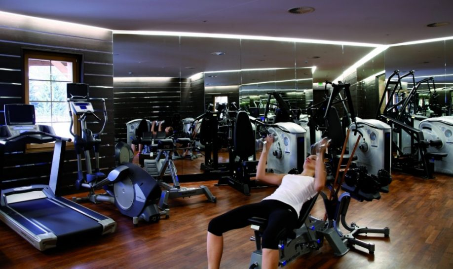 Chalet RoyAlp Hotel Spa Gym