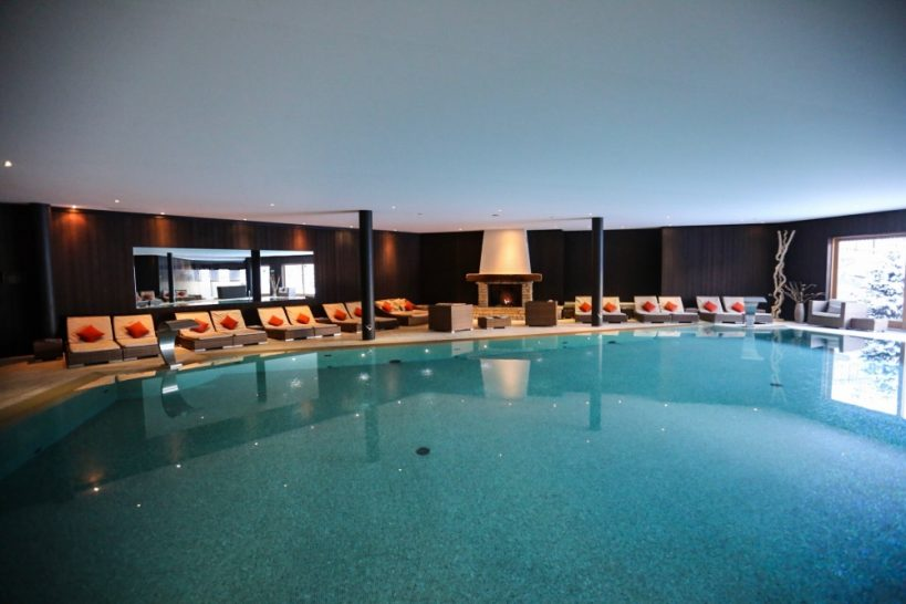 Chalet RoyAlp Hotel Spa Pool